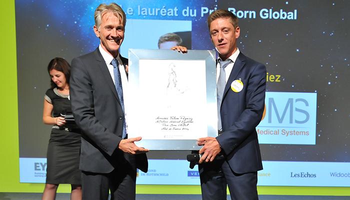 EY Le Prix Born Global pour Fabien Pagniez Fondateur de MDoloris Medical Systems (59)