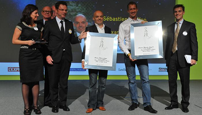EY Le Prix de l'Entreprise d'Avenir pour Sébastien Goiffon et Alexandre Biegala, Co-fondateurs de GB & SMITH (59)