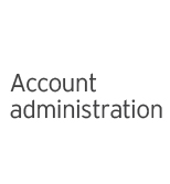 EY - Account administration