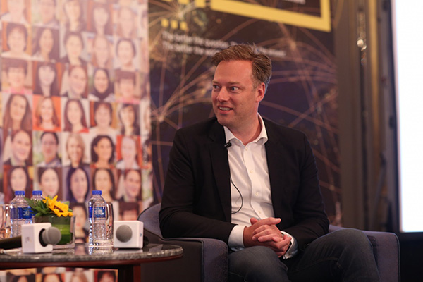 EY - Fireside chat with an exceptional entrepreneur: digital disruption – the opportunity