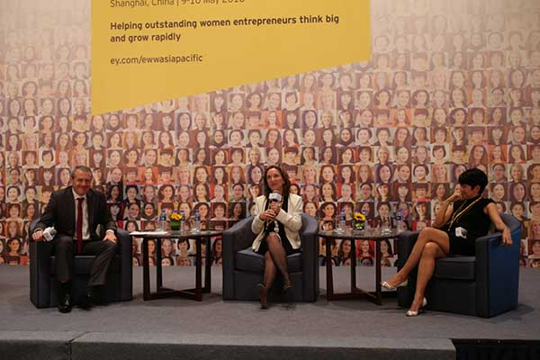 EY - Fireside chat with exceptional entrepreneurs: Building a brand in China