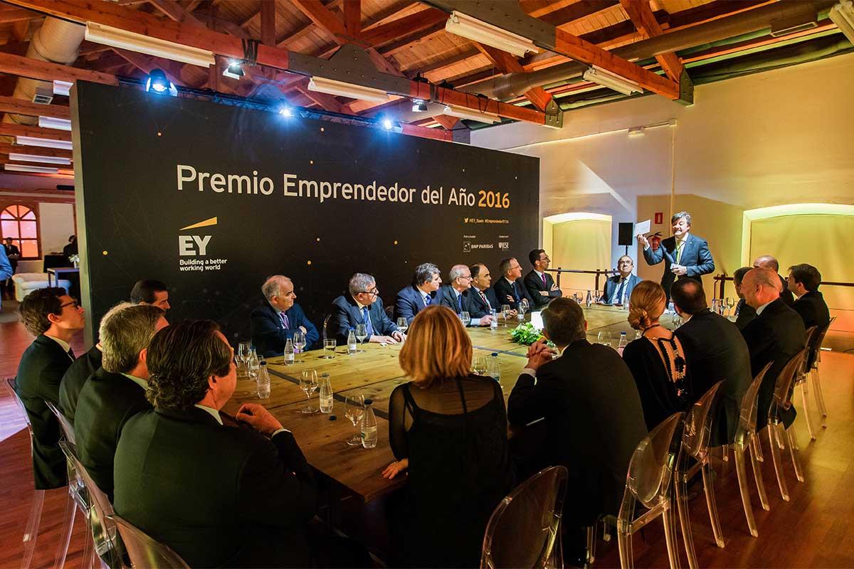 EY - Gala final del Premio Emprendedor del Año 2016
