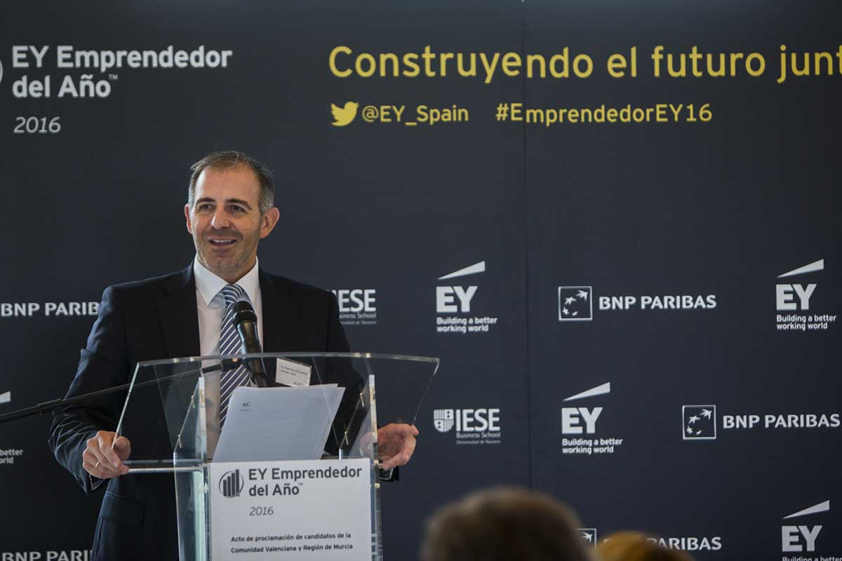 EY - Fidel García-Guzmán; Consejero Delegado de Guzmán Global