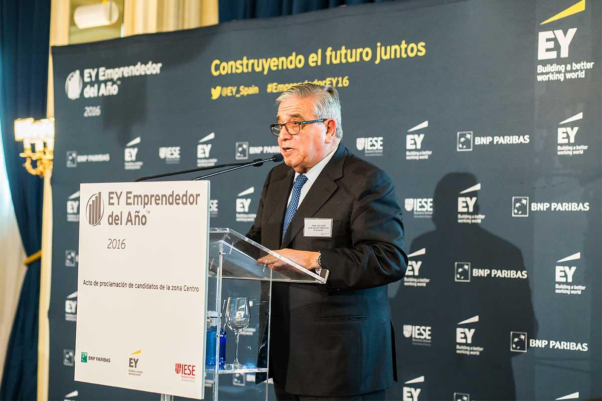EY - José Luis Calvo Pumpido, Presidente de Honor de Grupo Calvo