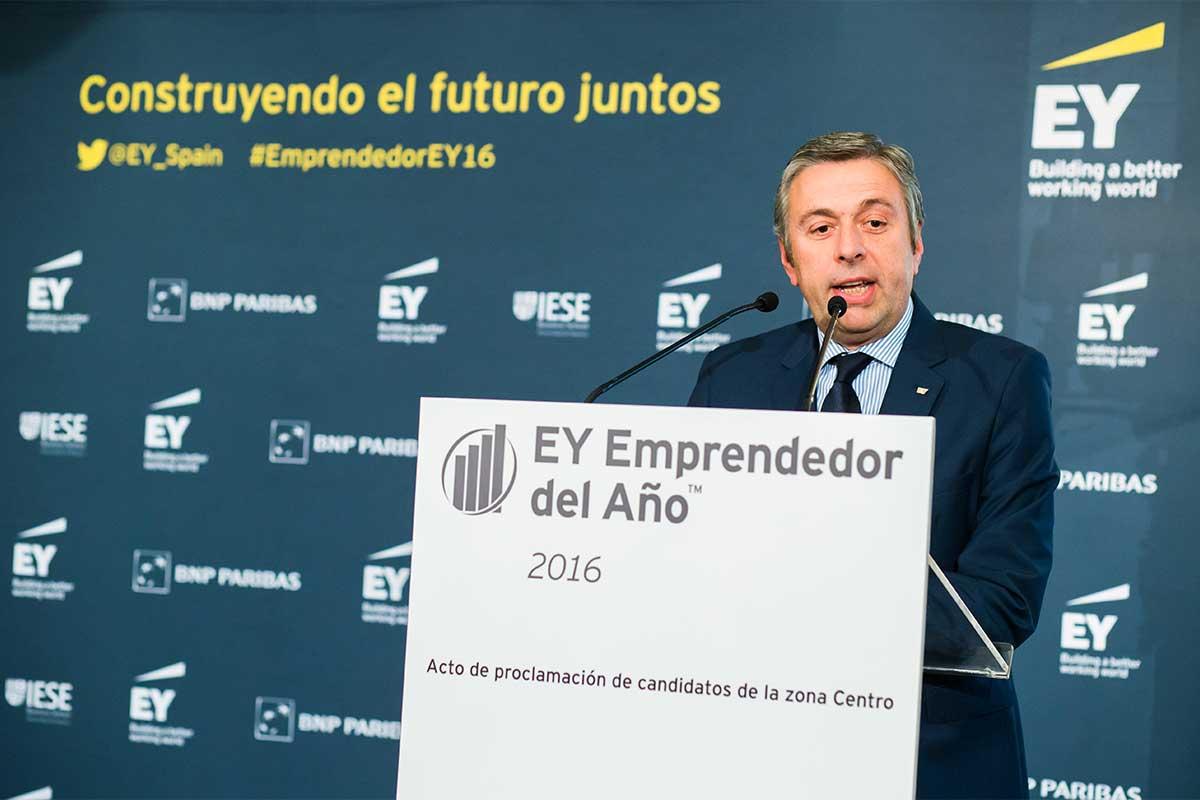 José Luis Perelli, Presidente de EY