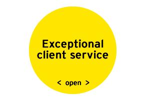 EY - Exceptional client service