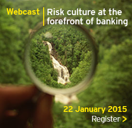 EY - Webcast: Risk culture at the forefront of banking