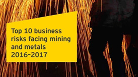 EY – Top 10 business risks facing mining and metals 2016-2017