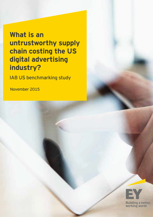 What is an untrustworthy supply chain costing the US digital ad industry?