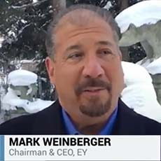 EY - Mark Weinberger on Bloomberg Quint
