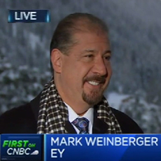 EY - Mark Weinberger on CNBC