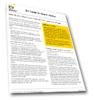 EY - EU audit legislation: implications for audit committees