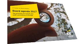 EY - Top priorities for European boards in 2017