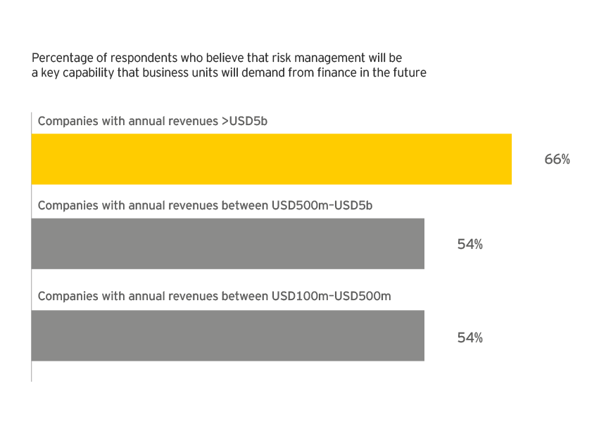EY - The business will seek risk management capability from finance in the future