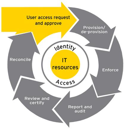 EY - Het diagram van de IAM-cyclus