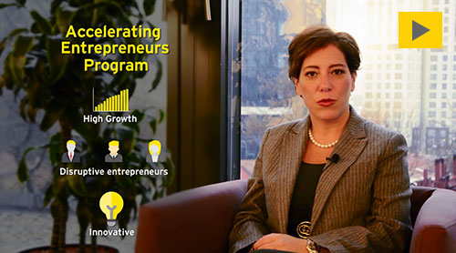 EY Accelerating Entrepreneurs program
