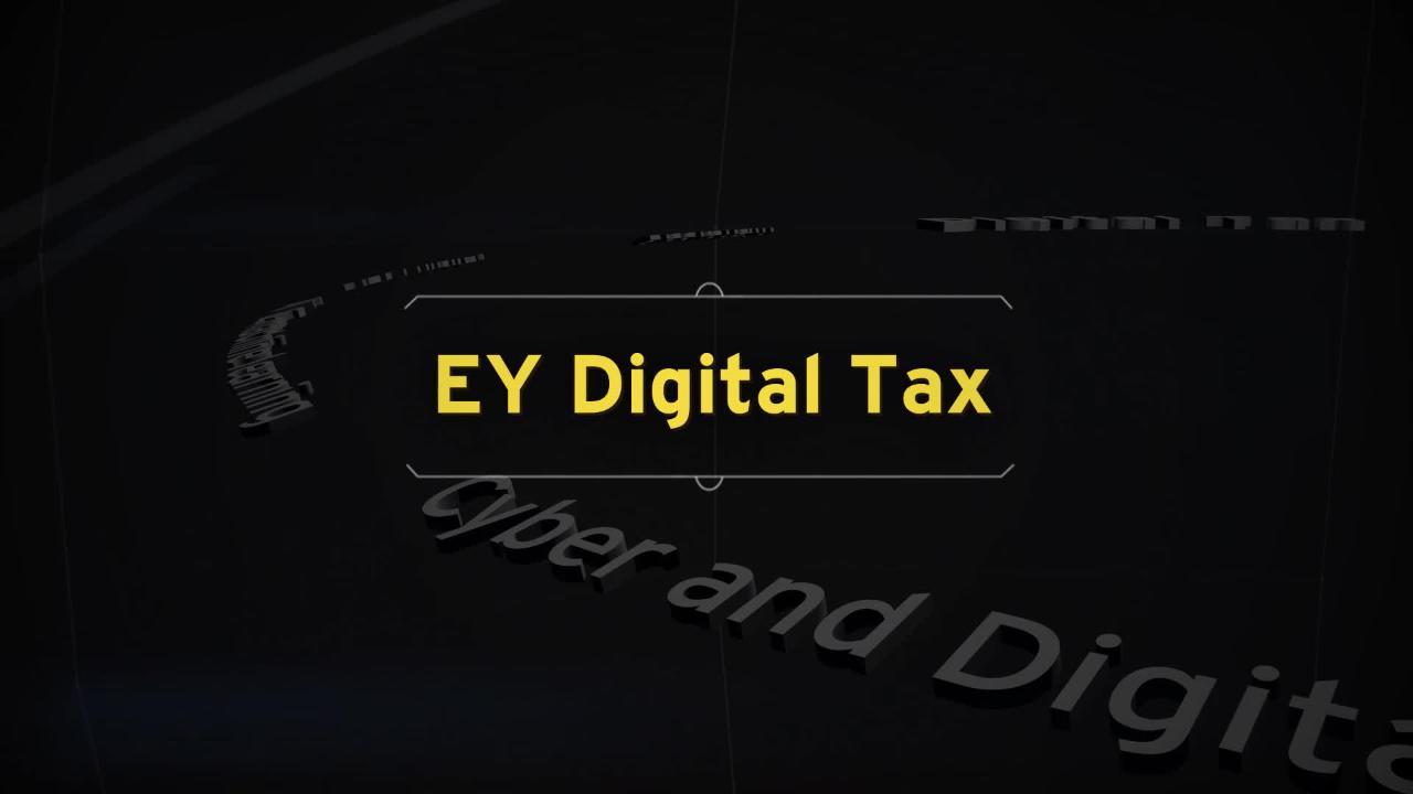 EY Digital Tax