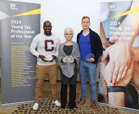 EY- Young Tax Professional of the Year 2014