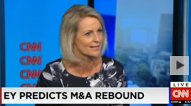 EY - Pip McCrostie talks M&A to CNN