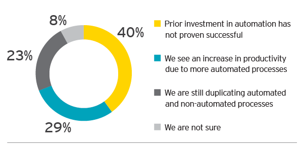 EY - How do you see automation impacting productivity within your company?