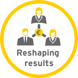 Reshaping results