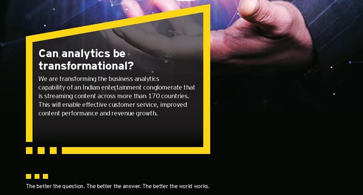 EY - Can analytics be transformational?