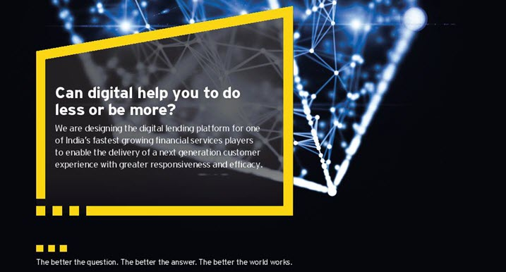 EY - Can digital help you to do less or be more?