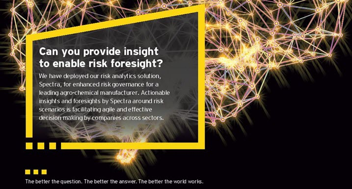 EY - Can you provide insight to enable risk foresight?