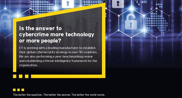 EY - Is the answer to cybercrime more technology or more people?