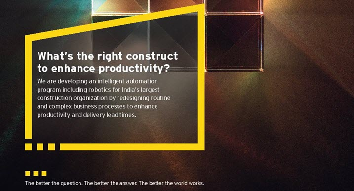 EY - What's the right construct to enhance productivity?