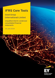 EY - Good Group - Illustrative interim condensed consolidated financial statements (March 2018)