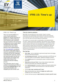 EY - IFRS 15: Time's up