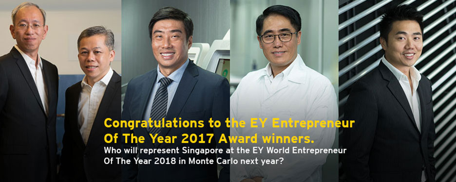 Congratulations to the EY Entrepreneur Of The Year 2017 Award winners