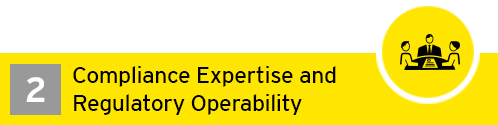 EY - Compliance expertise and regulatory operability