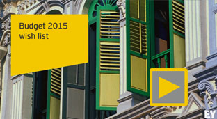 EY Singapore Budget 2015 - Pre-Budget 2015 video commentary
