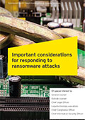 EY - Important considerations for responding to ransomware attacks