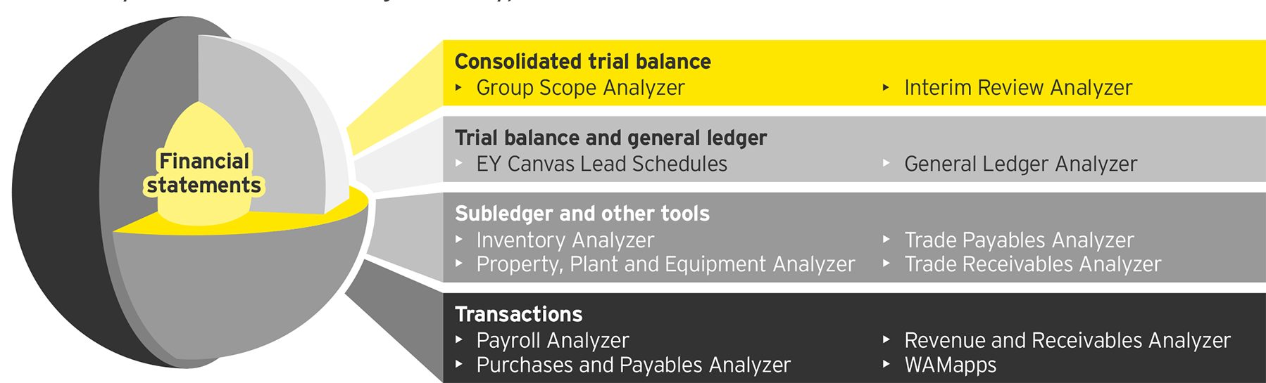 EY - Our analyzers accommodate a range of data types