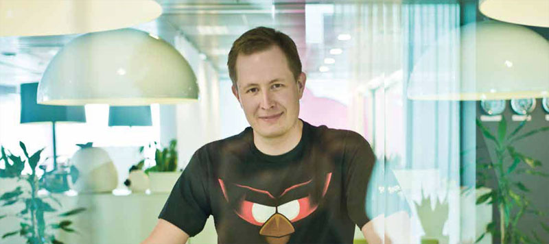 Mikael Hed, CEO of Rovio Entertainment