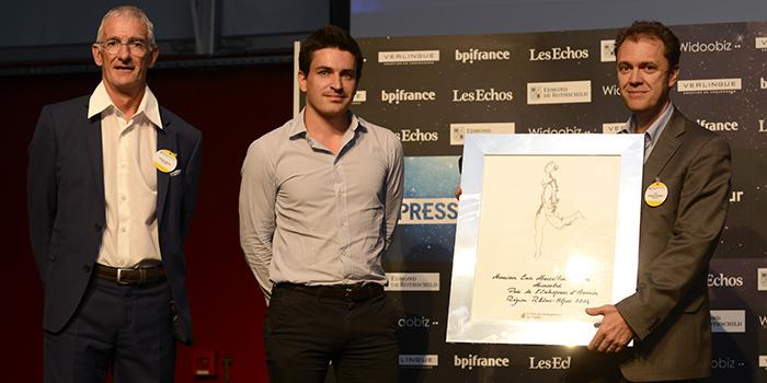 EY - Prix de l'Entreprise d'Avenir : Eric Marcellin-Dibon, DG de Microoled (38)