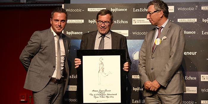 EY - Prix de l'Entreprise Internationale : Jacques Lacroix, PDG de Maped (74)