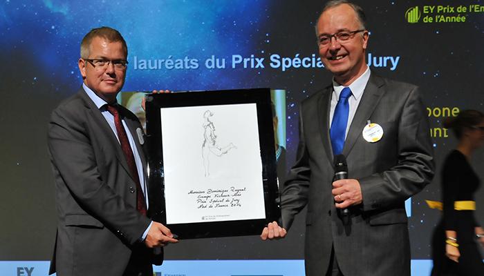 EY Le Prix « spécial du jury » pour Dominique Ruyant et Gérard Meauxsoone, Dirigeants du groupe FICHAUX-MEO (59)