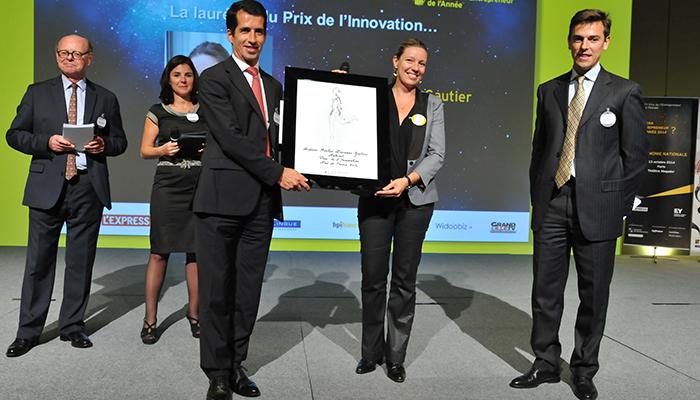EY Le Prix de l'Innovation  pour Adeline Lescanne-Gautier, Président Directeur Général de Nutriset (76)
