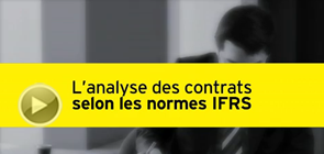 EY IFRS - L'analyse des contrats selon les normes IFRS
