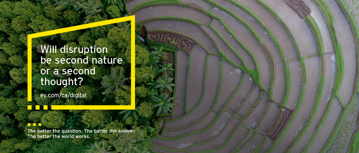 EY - Will disruption be second nature or a second thought?