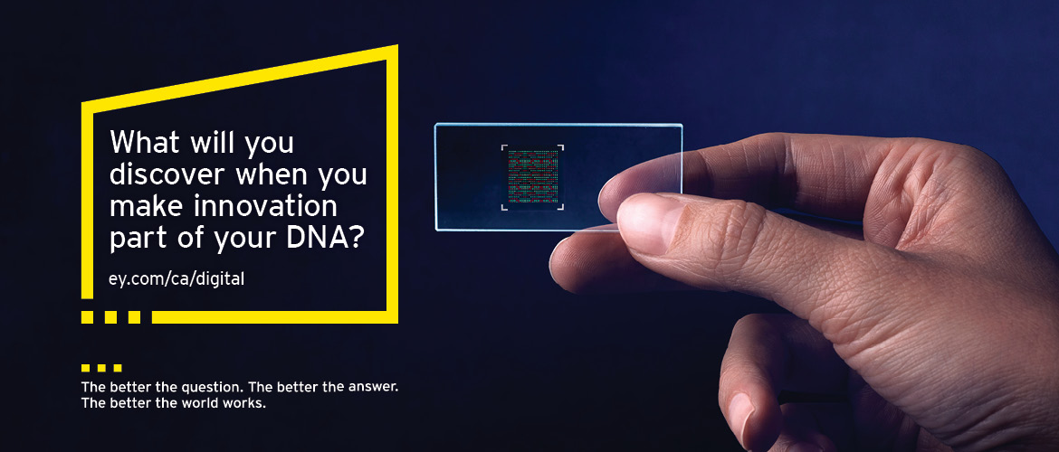 EY - What will you discover when you make innovation part of your DNA?