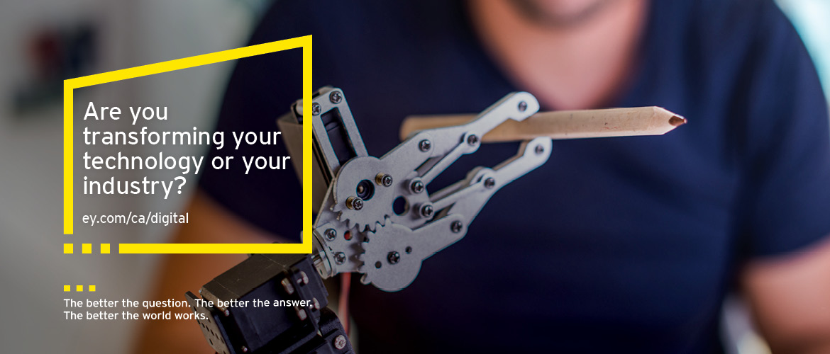 EY - Are you transforming your technology or your industry?