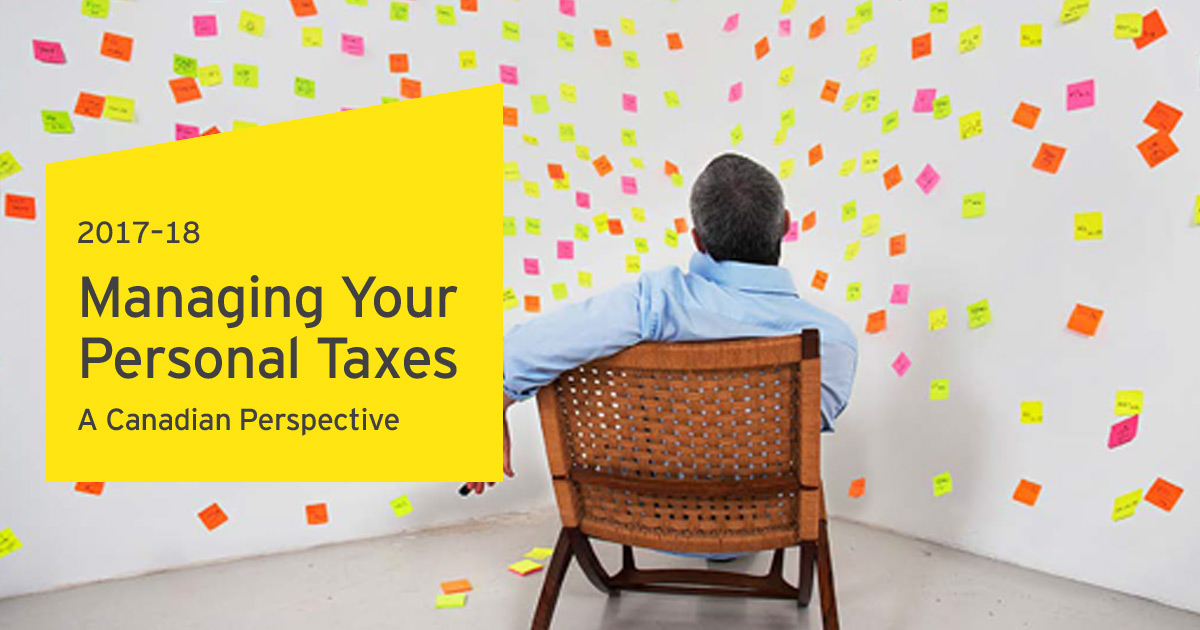 Managing Your Personal Taxes 2017 18 Us Tax For Canadians