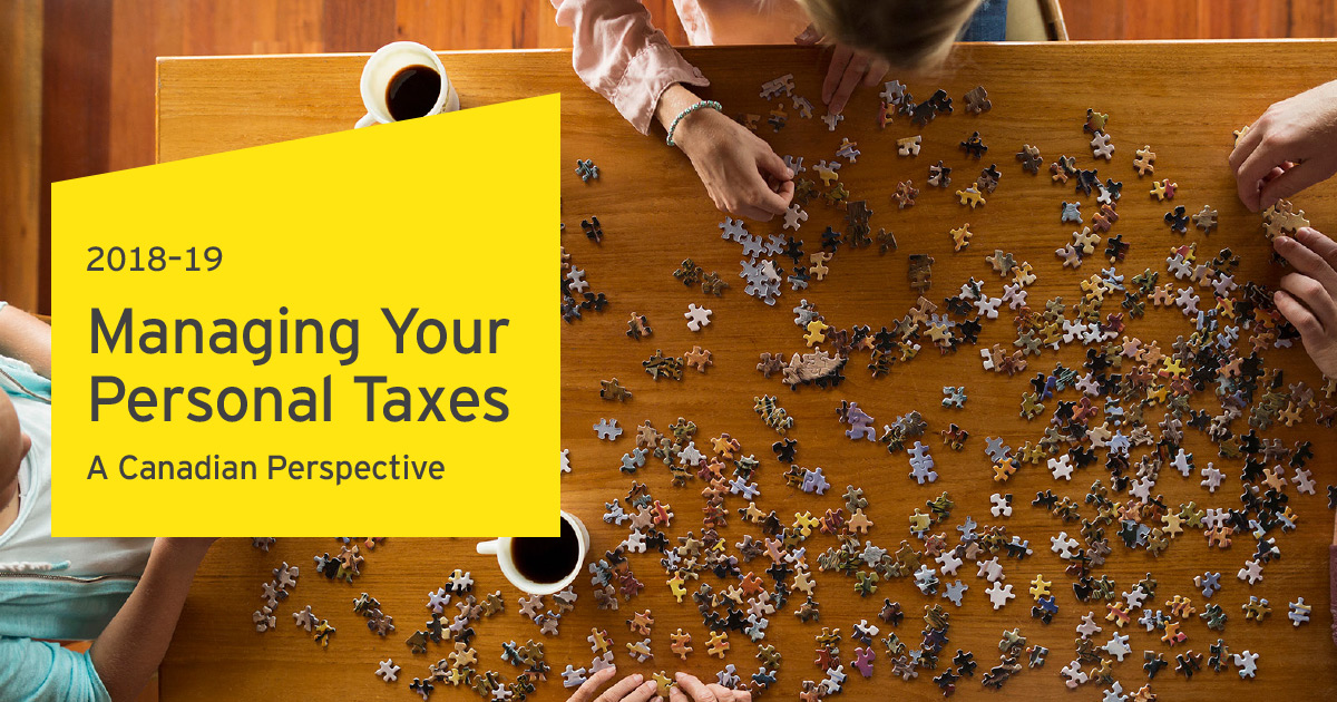 Managing Your Personal Taxes 2018-19 - Canadian tax for nonresidents
