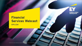 EY - Ready for the new Prudential Standard CPS 234 - Information Security?