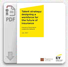 EY -  Talent strategy: designing a workforce for the future of insurance